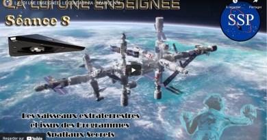 LA LOI UNE ENSEIGNÉE – LE CONTACT RA – SÉANCE N°8 : Les » programmes spatiaux secrets «