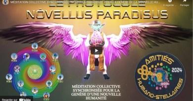 Méditation Collective Synchronisée «Nôvellus Paradisus» pour la genèse de la nouvelle humanité à partir 24 Juillet pendant 21 jours