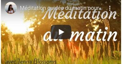 Méditation guidée du matin pour une journée harmonieuse – 7 minutes, par Jenna Blossoms