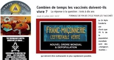 VACCIN Covid / L'effroyable témoignage d'un Franc-Maçon de haut grade (oxyde de graphène)