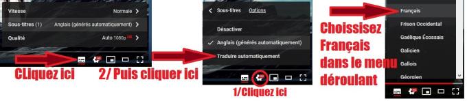 Afficher les sous-titres en Français