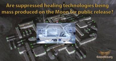 Les technologies de guérison supprimées (MED BED) sont-elles produites en masse sur la Lune pour diffusion publique ? Par Michael Salla