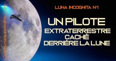 Tranche de vie extraterrestre : Un pilote extraterrestre en mission de sa base vers la lune