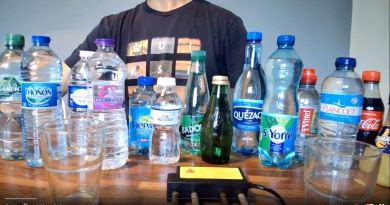 Eau de pluie, eau du robinet, eaux en bouteille, bières : des particules de nanographène s'y cachent-elles, et où ?