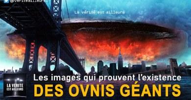 Les images qui prouvent l'existence des OVNIS Géants