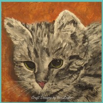 Primitive Cat Paintings