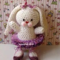 Crochet Amigurumi Ballerina Bunny