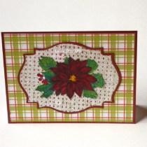 Plaid Wreath Card