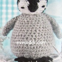 Crochet Penguin Toy