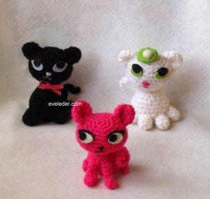 Crochet Amigurumi Kittens