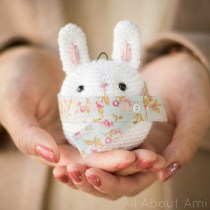 bunny ornament