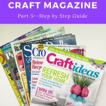 How to get published in a Craft Magazine--part 5