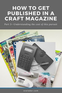 Published Craft Designer--part three in the series on how to become a published craft designer.