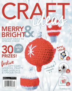 10 Reason to Crochet Christmas Ornaments--Craft Ideas Holiday 2016