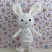 holiday crochet amigurumi rabbit pattern