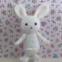 holiday crochet amigurumi rabbit pattern
