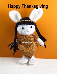 Holiday Crochet Amigurumi Rabbit--this is a new series called Readers' Choice.You are invited to contribute to the design process.