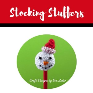 Stocking Stuffers--FREE crochet pattern to make snowman, cat or penguin.