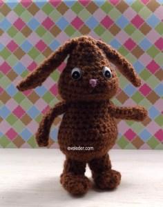 Crochet Amigurumi Bunny Rabbit--free crochet pattern