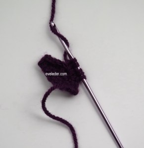 Crochet Bobble Stitch—free crochet tutorial with instructions and step-by-step photos