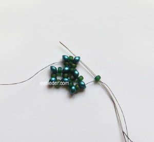 Two Hole Bead Cubic Right Angle Weave--Free Beading Tutorial