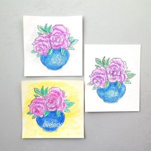Watercolor Peony Card—You still have time to create a beautiful watercolor card for Mom. Learn how in this free tutorial.