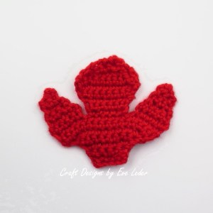 Crochet Leaf Bowl