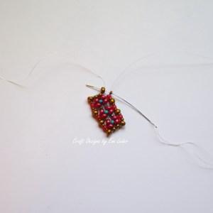 Courageous Heart Bracelet--Outside edge two--c