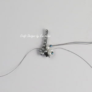 Beaded Butterfly Pendant--Fig. 4_