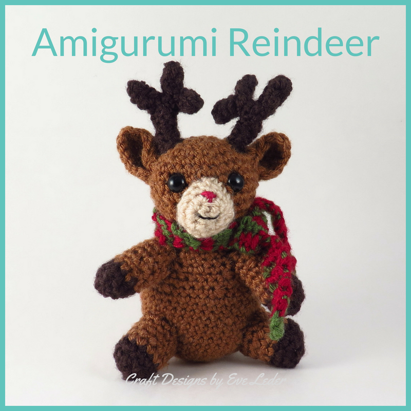 Carlotta the little fawn amigurumi crochet pattern - Laydiy | 800x800