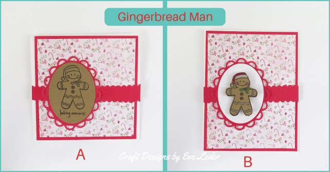 Holiday Card Making Guide for Beginners -- Gingerbread Man Card