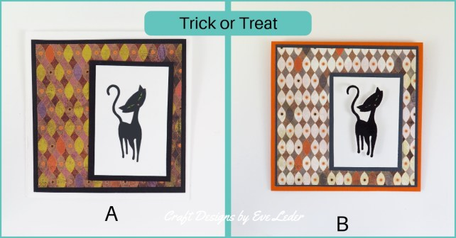 Holiday Card Making a Beginner's Guide—Black Cat Halloween Card
