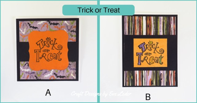 Holiday Card Making Guide for Beginners—Trick or Treat Halloween Card