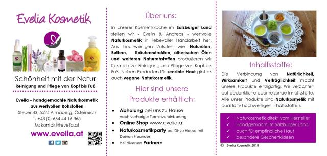 Evelia Kosmetik Flyer