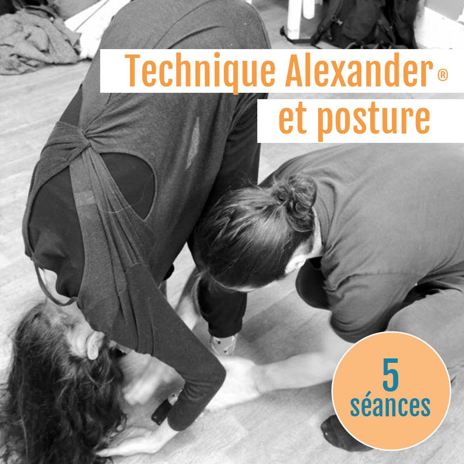 Tachnique Alexander et posture