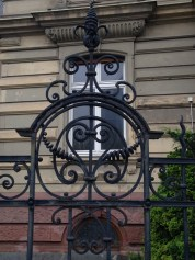 Works of art out of Wrought Iron are all over Europe