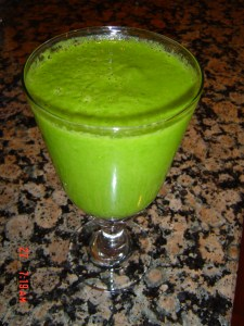 Green Smoothie Ingredients from Carolyn's Corner