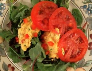Egg-Less Egg Salad:  Mindful Meals Review