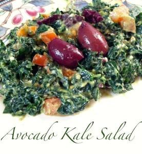 Avocado Kale Salad