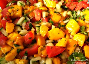 How To Make A Spicy Mango Salsa