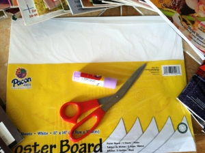 poster-board-scissors-glue