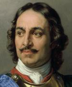 Oil painting of regal looking man.