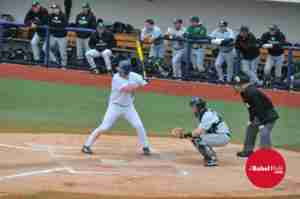 Orvis had a big two-RBI double against Memphis Tuesday night (File photo from Stetson game courtesy of Dan Anderson)
