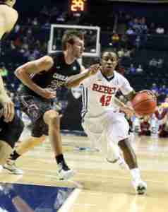 G Stefan Moody finished with 8 points against SC. (Photo credit: Joshua McCoy, Ole Miss Athletics)