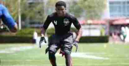 4-star cornerback Jaylon Jones committed to the Rebels Tuesday. (Photo courtesy of 247Sports)