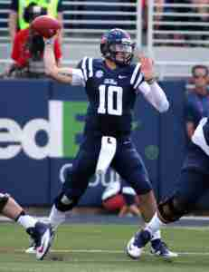 Chad Kelly named Preaseason 1st Team All-SEC QB following Media Days. (Photo credit: Josh McCoy)