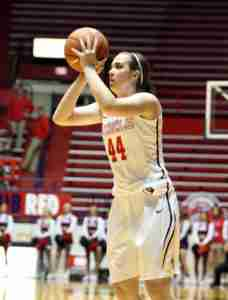 Torri Lewis gave the Rebels a spark off the bench, scoring 20 points. (Photo credit: Joshua McCoy, Ole Miss Athletics)