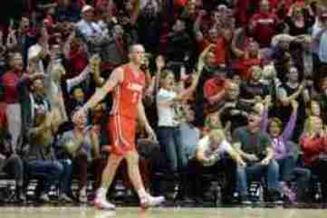 Cullen Neal started in 31 games for New Mexico last season.
