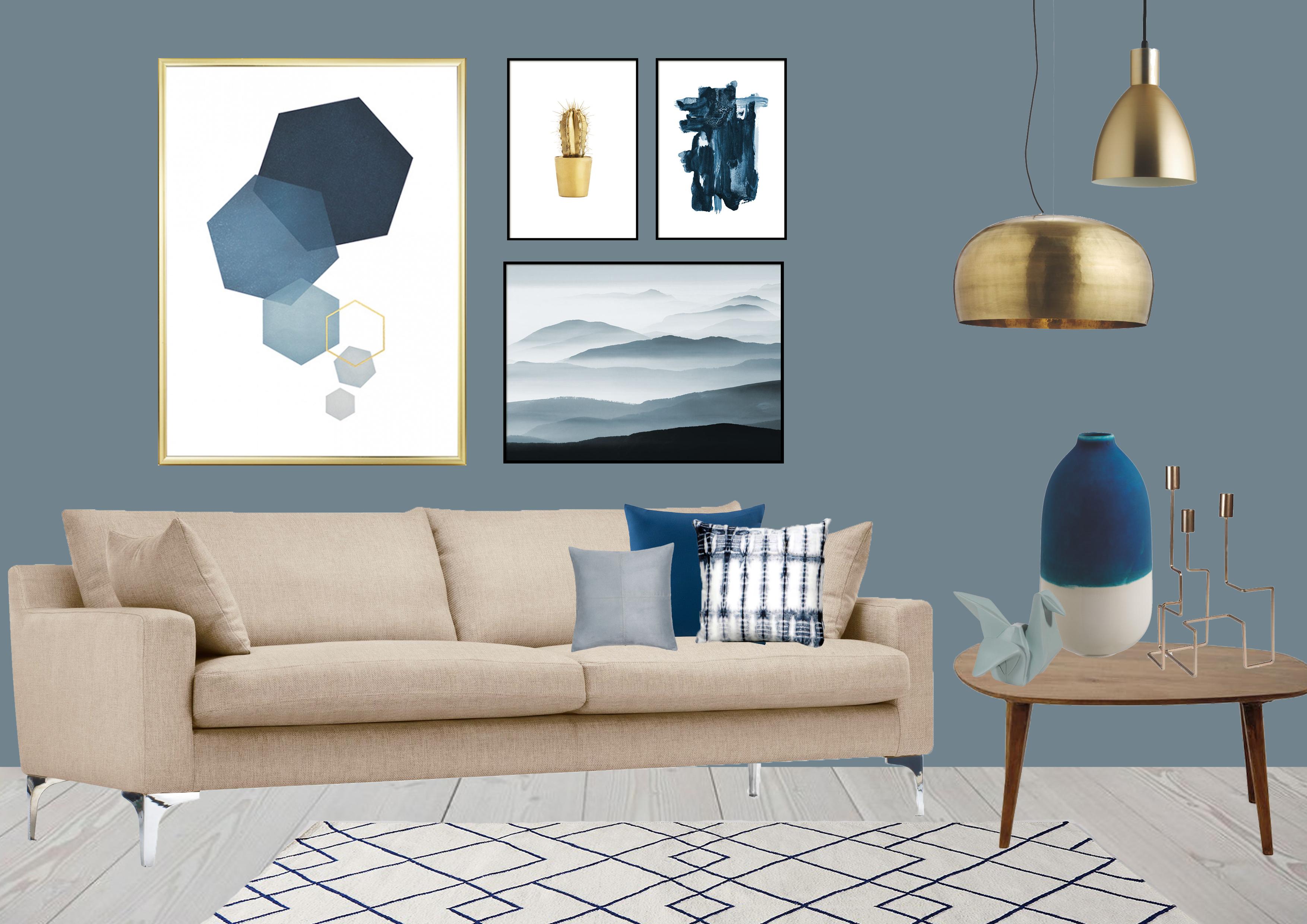 Denim Drift Colour Of The Year 2017 Eve Morgan Interiors