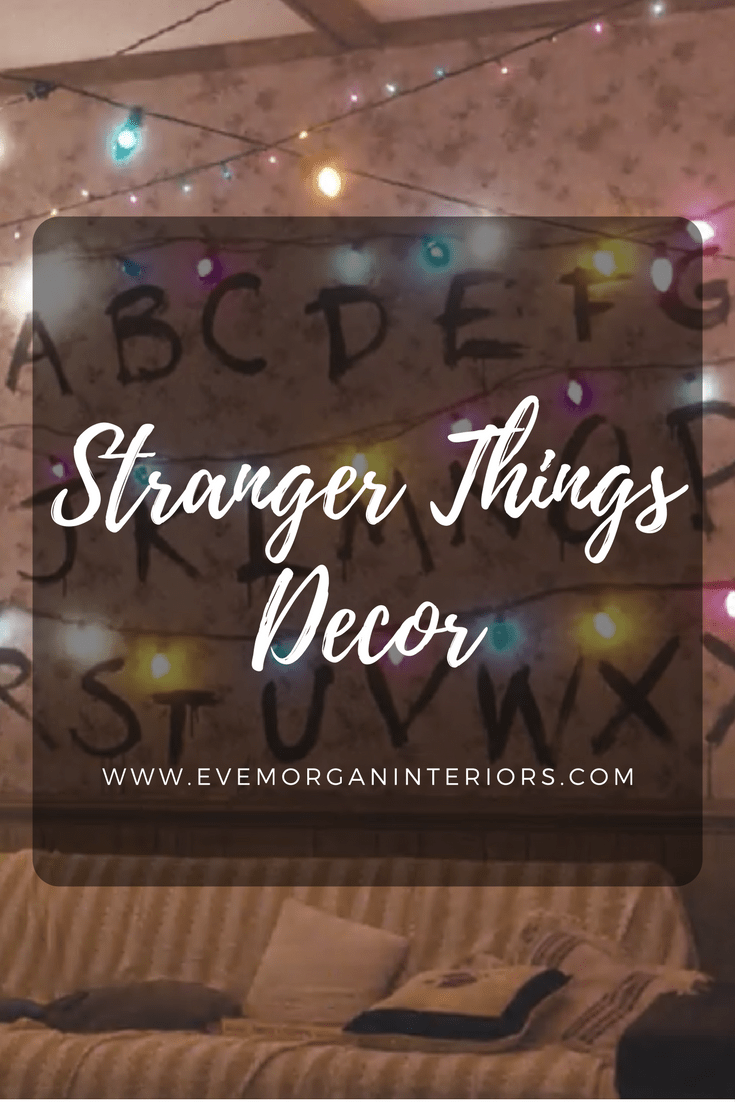 Stranger Things Decor. To celebrate Stranger Things winning Best Ensemble in a Drama Series at the Screen Actors Guild Awards (SAG) this week, I thought I'd put a post together about the set design and decor used in the first series.